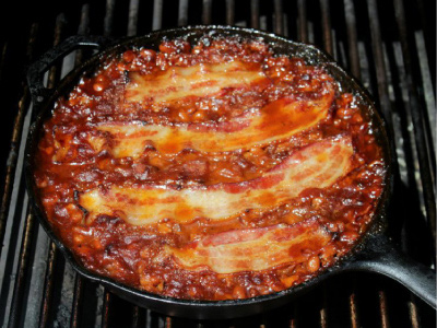 Beer Bacon Barbecue Beans